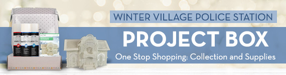 Winter Village Police Station Project Box