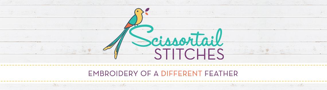Scissortail Stitches modern & trendy machine embroidery designs