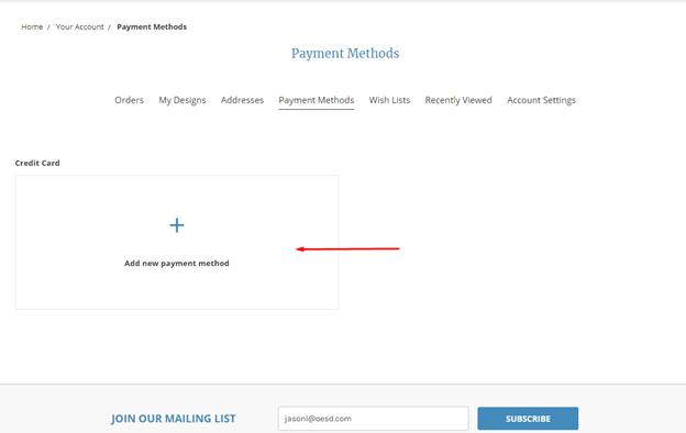 update payment method 6