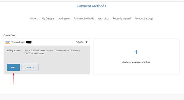 update payment method 9