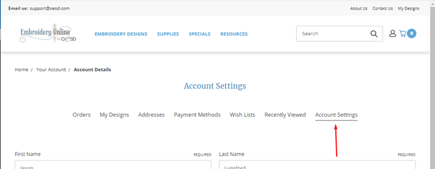 how to make changes to your account screenshot 5
