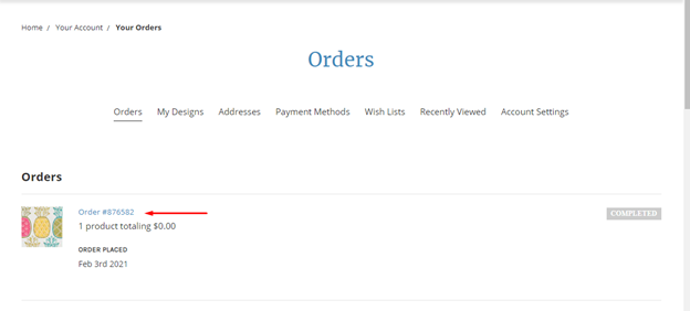 how to view your orders screenshot 5