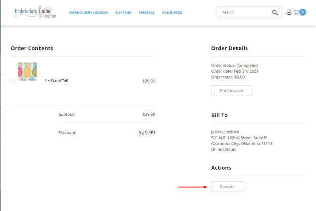 how to view your orders screenshot 8