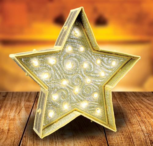Freestanding Star Bright