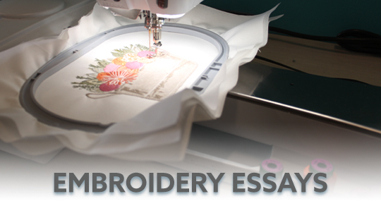 Embroidery Essays