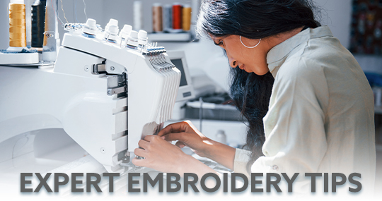 Expert Embroidery Tips