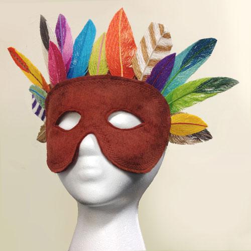 Kaleidoscope of Feathers Mask