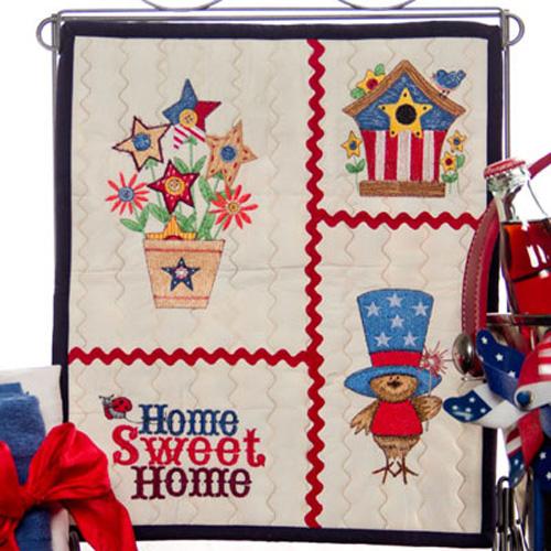 American Icons Mini Quilt