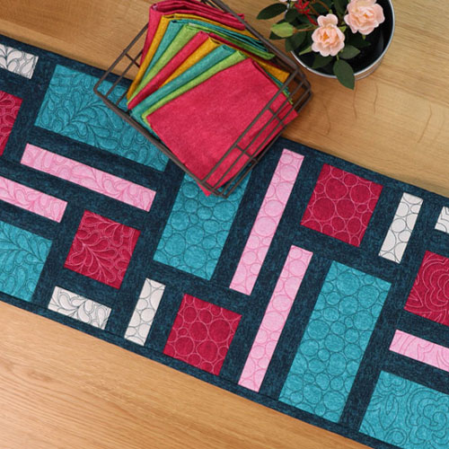 Fill It Up Quilting Table Runner