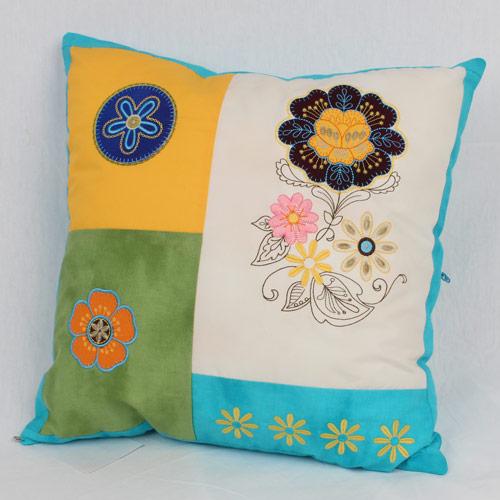 Fresh Flora Medley Pillow