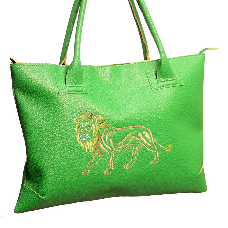 Zig Zag Animals Tote Bag
