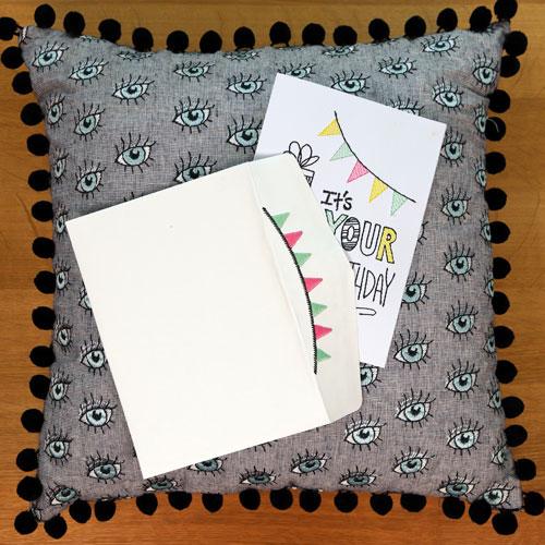 Garland Stitched Envelope