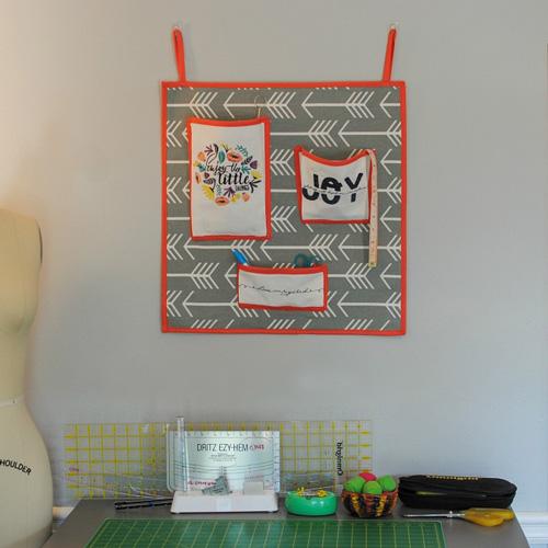 DIY Studio Wall Organizer